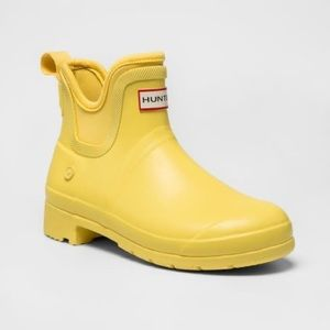 Hunter for Target Matte Yellow Boots